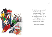Load image into Gallery viewer, To a wonderful grandson Christmas card