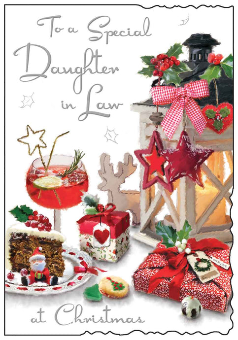 Special daughter in law Christmas card