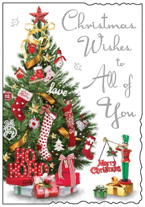 Christmas wishes to all of you card