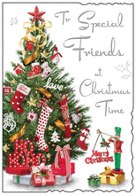 Load image into Gallery viewer, Special friends at Christmas time card