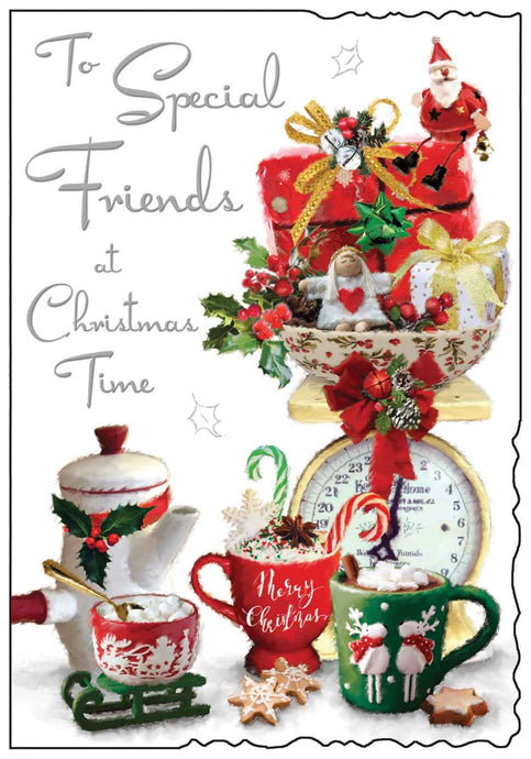 To special friends at Christmas time card