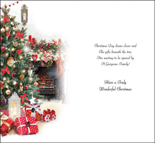 Load image into Gallery viewer, To all the family with warm wishes Christmas card