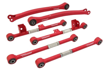 97-07 Impreza/WRX Trailing Arms, Lateral Arms (RF+RR) Combo Kit