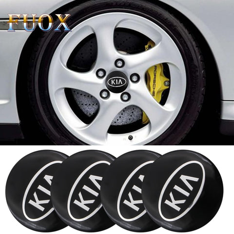 Decorative Car Wheel Center Hub Caps badge Sticker FOR KIA K2 K3 K5 k9