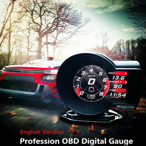 OBD Head Up Display Car Digital Boost Gauge