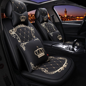 Car Seat Cover Universal Gorgeous Leather