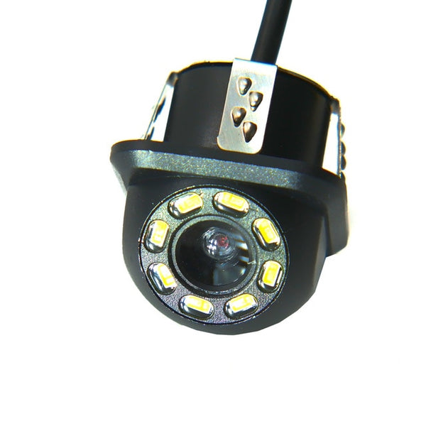 Rear View Camera 4 LED Night Vision Reversing Auto Parking Monitor