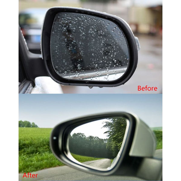Car Anti Water Mist Film Anti Fog Coating Rainproof 1 pair