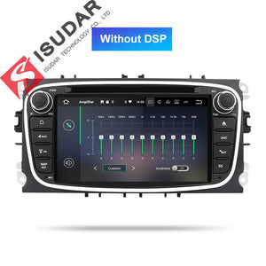 Autoradio Android 9 GPS 2 Din For FORD/Focus/Mondeo/S-MAX/C-MAX/Galaxy