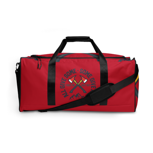 """First In, Last Out"" Duffle Bag"
