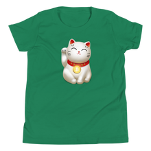 Load image into Gallery viewer, Bitcoin Maneki-neko Youth Tee