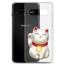 Load image into Gallery viewer, Bitcoin Maneki-neko Samsung Case