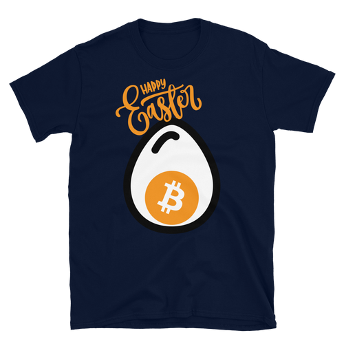 Happy Easter Bitcoin Egg