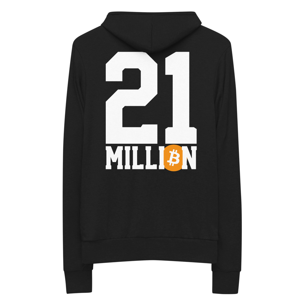 21 Million Zip Hoodie