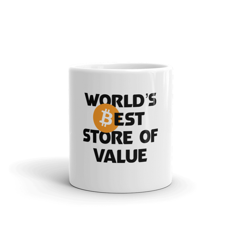 Bitcoin - World's Best Store of Value Mug