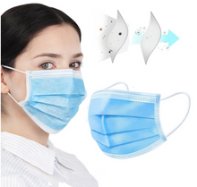 Load image into Gallery viewer, 3-Ply Face Mask (Disposable) Level 3 ASTM