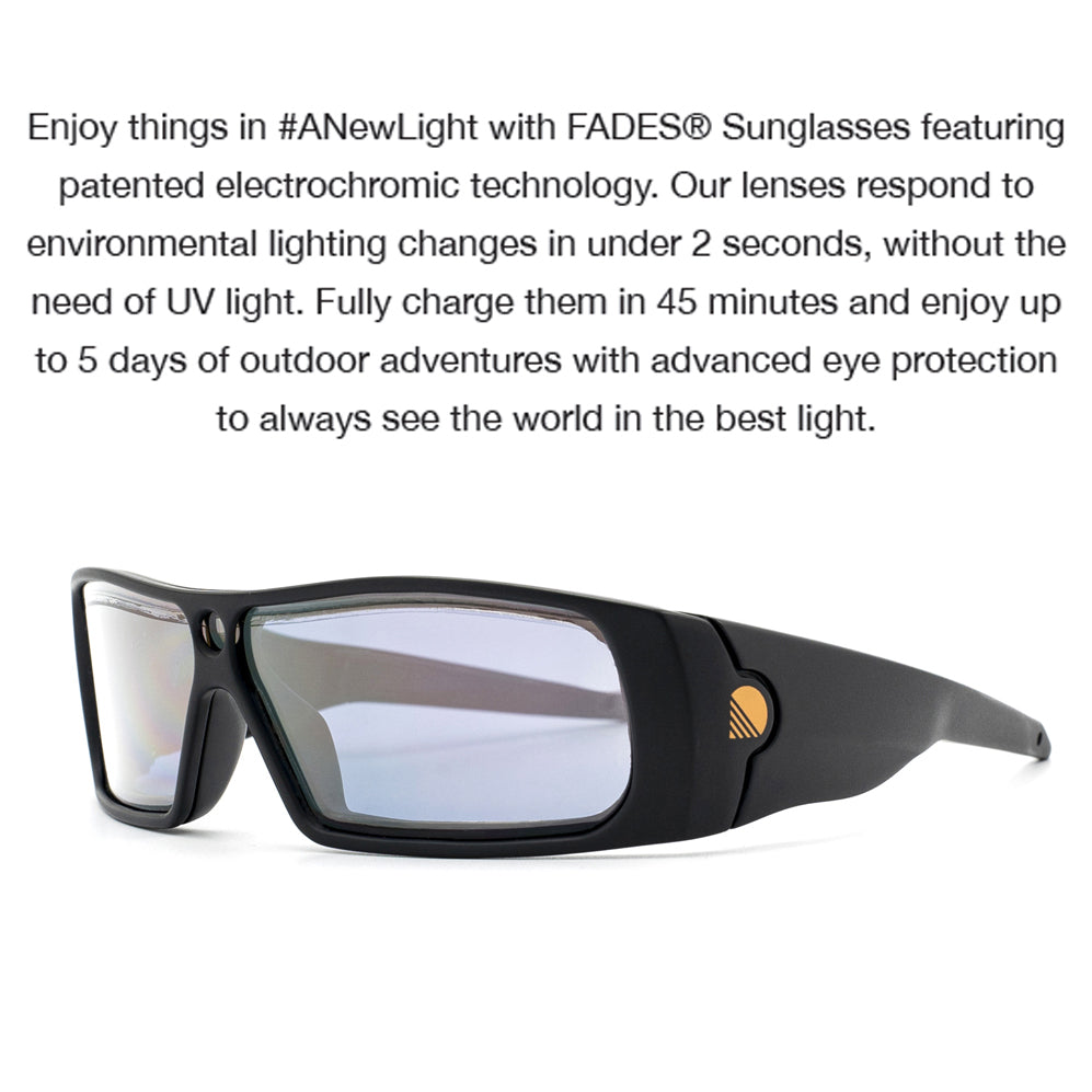 Fades Auto Dimming Golf Sunglasses