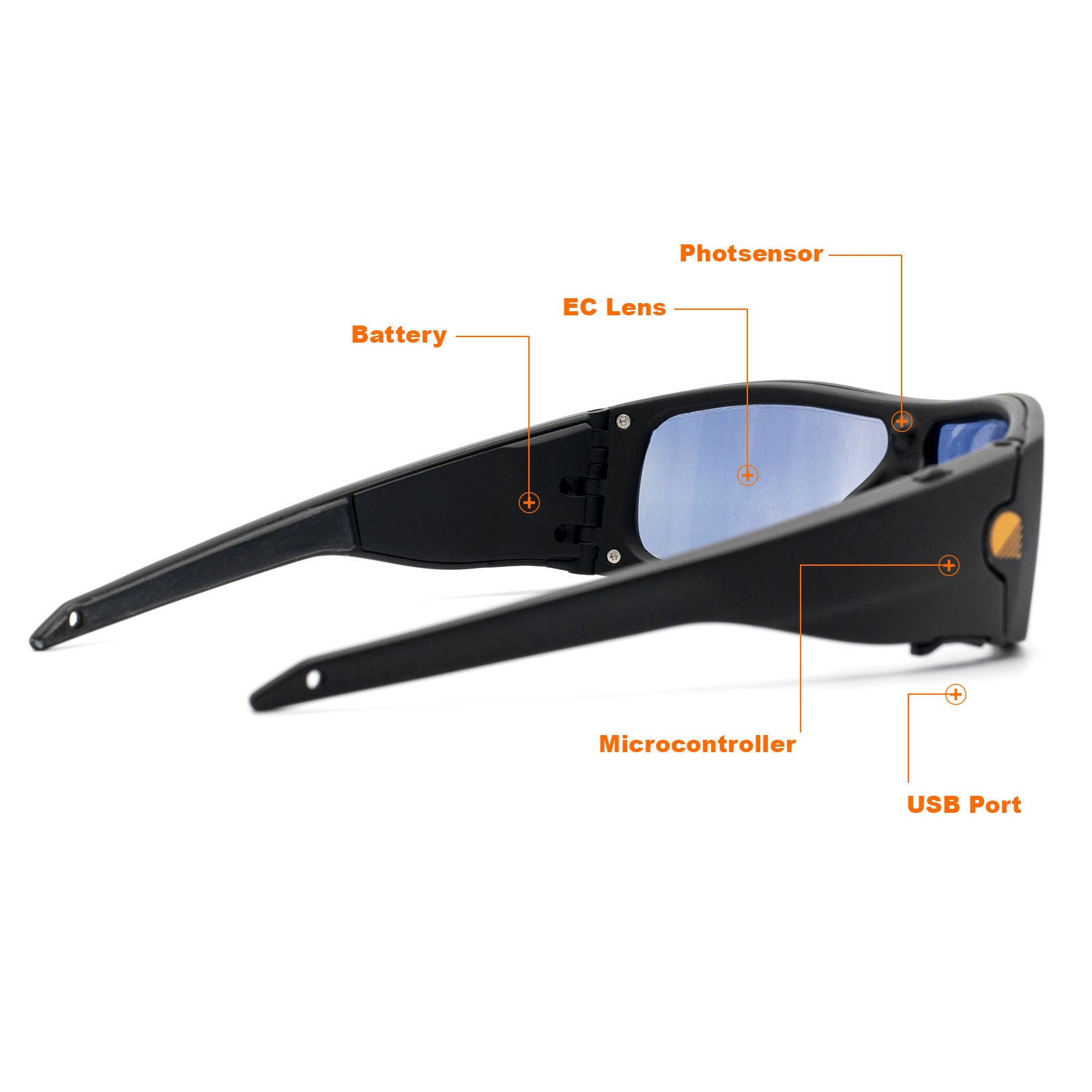 Fades Battery Powered Auto Transitioning Sunglasses