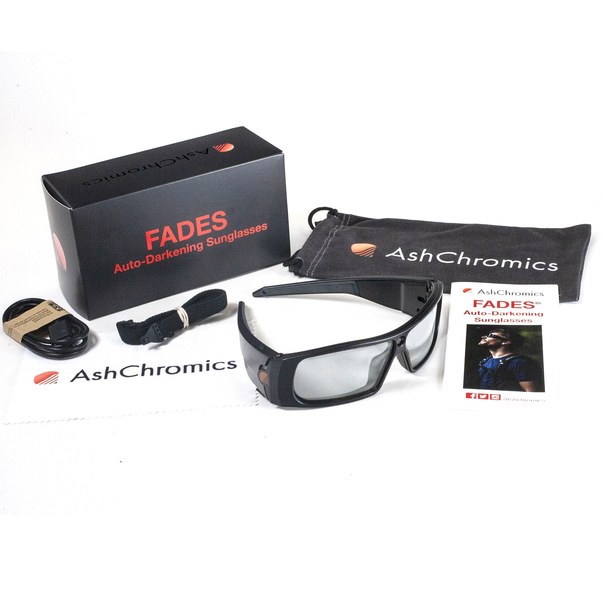 Fades Auto Darkening Sunglasses Package