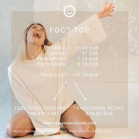 FEEL GOOD COUTURE™ - TRUE COST OF HIGH QUALITY TOP