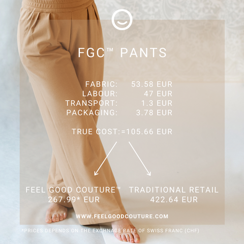 FEEL GOOD COUTURE™ - TRUE COST OF HIGH QUALITY PANTS