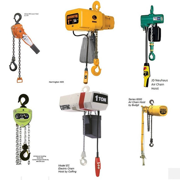Do you need a manual, electric or air-powered hoist? FAQ's