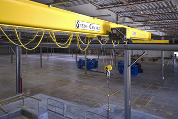 001 Sveda Bridge Cranes - custom designed & built for your overhead lifting needs