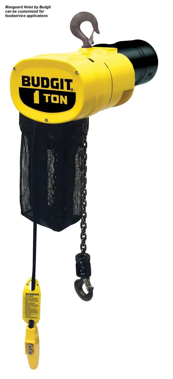 Food Grade Hoists & Cranes