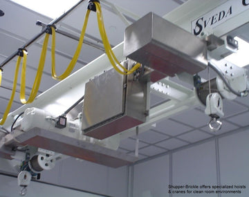 Pharmaceutical Clean Room Hoists & Cranes