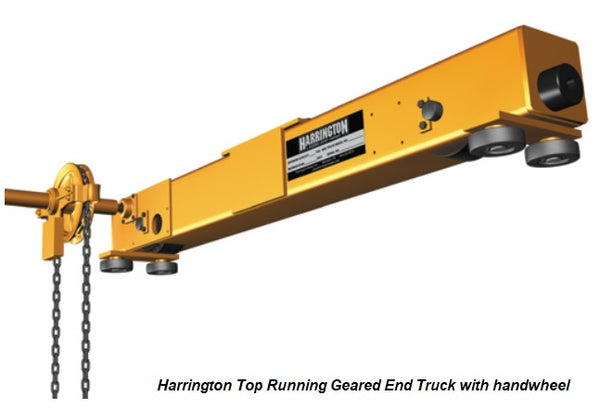 End Trucks for Bridge Cranes