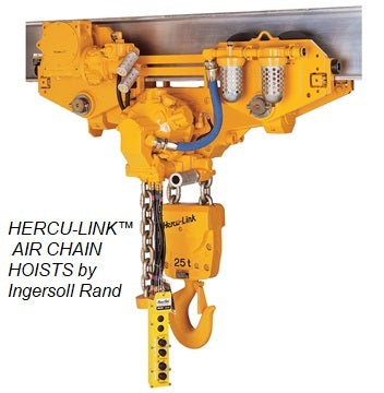 Manual & Powered Chain Hoists by Ingersoll Rand