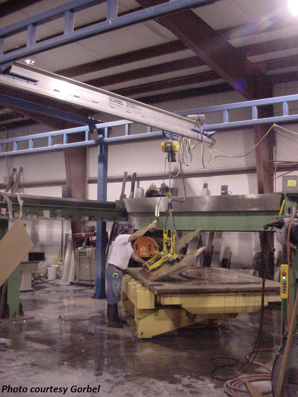 Granite, Marble & Stone Industry Overhead Lifting