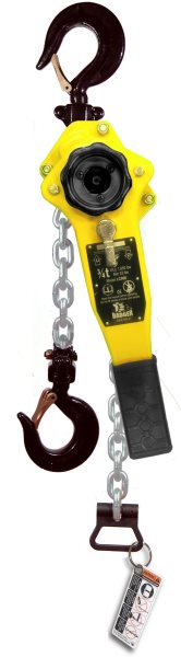 LC060-05 Lever Chain Hoist, LC Series, 5 ft Lift 6T capacity