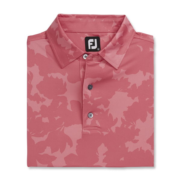 FootJoy Athletic Fit Camofloral Print Polo