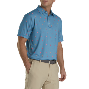 FootJoy Lisle Cocktail Print Polo