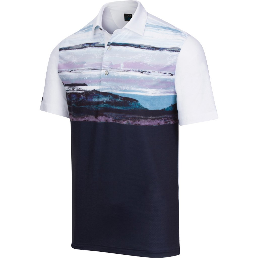 Greg Norman Skyscape Polo w/SGCC Logo
