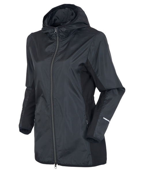 SunIce Blair Packable Water-Repellent Wind Jacket with Hood with SGCC Logo