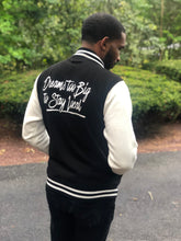 Load image into Gallery viewer, Dreams Adult Varsity Jacket