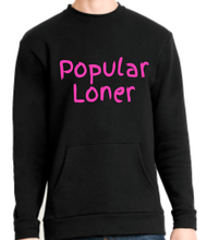 Load image into Gallery viewer, Popular Loner Sweatshirt w/ Pocket