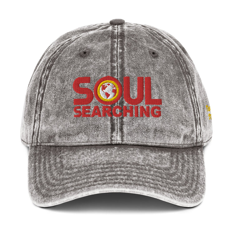 Soul Searching Vintage Cotton Twill Cap