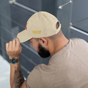 Soul Searching Combo Distressed Dad Hat