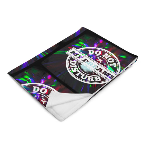 Do Not Disturb My Dreams Blanket