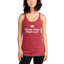 Load image into Gallery viewer, Stress Less Women's Racerback Tank