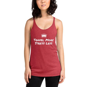 Stress Less Women's Racerback Tank