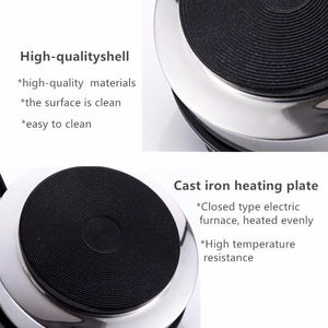 Mini Electric Heater Stove Hot Cooker Plate Milk Water Coffee Heating Furnace Multifunctional Kitchen Appliance