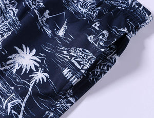 Men's Swim Trunks Quick Dry Beach Shorts with Pockets