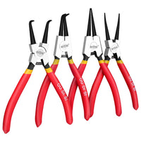 "Portable 7"" Internal External Pliers Retaining Clips Multifunctional Snap Ring Circlip Pliers For Hand Tool"