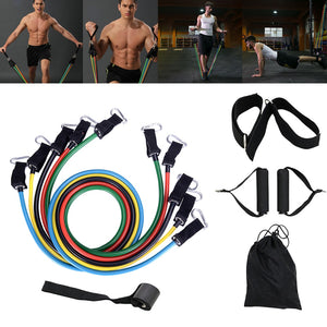 Pull Rope Fitness Exercises Latex Resistance Bands Crossfit TPE Tubes Pedal Excerciser Body Training Workout Sport Equipment