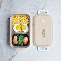 Stainless Steel Lunch Box Creative Simplicity Home Office Camping Hiking Leakproof Portable Food Container Student Kid Bento Box