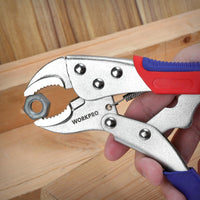 "Locking Pliers Welding Tools Pliers 6-1/2""  7"" 10"" Curved Jaw Pliers Straight Jaw Pliers"